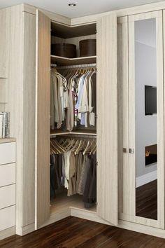 Trendy Bedroom Wardrobe Ideas Space Saving Built Ins Ideas Corner Wardrobe Closet, Wardrobe Design Bedroom, Bedroom Wardrobe, Closet Small, Master Closet, Built In Wardrobe Designs, Closet Designs, Wardrobe Ideas, Pine Wardrobe