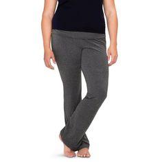 866113eb63 Junior's Plus Size Bootcut Yoga Leisure Pants - Mossimo Supply Co.  (Juniors') Gray X, Women's, Heather Gray