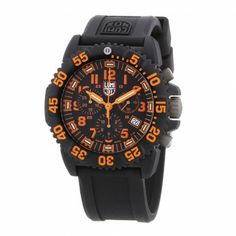 Navy Seal 3089 Luminox Mens Watch. Scratch resistant sapphire glass and water resistant up to 200 meters. #fathersday