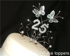 Best 25th Wedding Anniversary Cakes | Products We Love | Pinterest ...