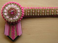 Royal Diamante - SHOW STOPPERS BROWBANDS- In pink of course for the princess