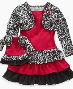 Dollie & Me Kids Dress, Girls and Little Girls Dress and Matching Doll Dress - Kids - Macy's