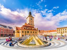 15 Best Things to Do in Brașov (Romania) - The Crazy Tourist Beautiful Streets, Beautiful Places In The World, Most Beautiful, Stuff To Do, Things To Do, Good Things, Trains, Brasov Romania, Next Holiday