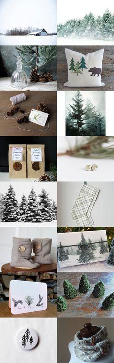 Pine Tree by Angela on Etsy--Pinned with TreasuryPin.com