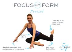 The Pretzel is a Physique 57 favorite, with good reason! This exercise is the ultimate multitasking move, simultaneously helping you lift your seat, trim your thighs and carve out a tinier waistline. Take a look at the set up and tips below to ensure you have proper form then try this exercise in our new … Continue reading Focus on Form: The Pretzel