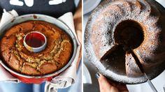Marcipános-fekete cseresznyés kuglóf Chocolate Fondue, Coffee Maker, Kitchen Appliances, Tableware, Food, Street, Coffee Maker Machine, Cooking Utensils, Coffeemaker