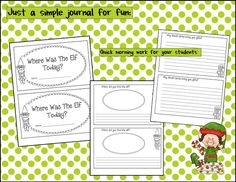Elf on the Shelf book freebie