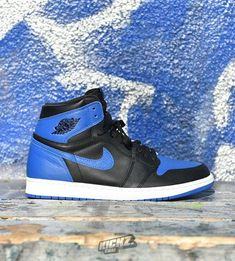 e309c2648a3 Air Jordan 1 Retro High OG (royal). One of the hottest releases this year.  An all-time classic. Now at kickz.com #MensFashionSneakers