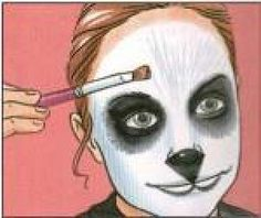 L'Antroxu: Maquillaje Oso Panda