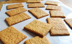 100% WHOLE WHEAT GRAHAM CRACKERS: HOMEMADE AND HEALTHIER