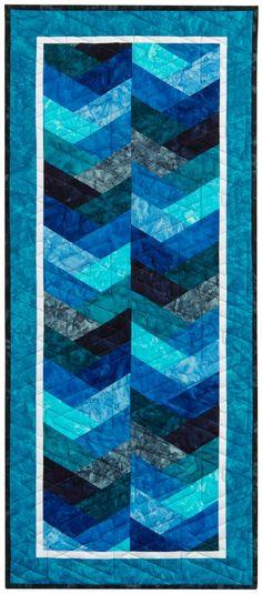 Tasty Runner Designer Pattern by Jaybird Quilts | Robert Kaufman Fabric Company