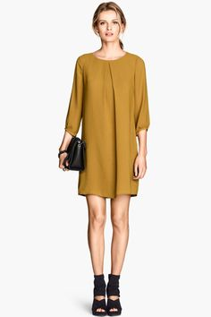 30 Fall Dresses For Every Occasion  #refinery29  http://www.refinery29.com/fall-dresses#slide1  Work Meeting