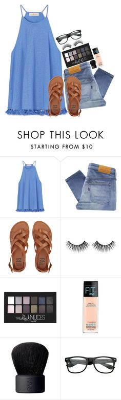 """""""I want summer and what do i get??? Six inches of snow."""" by graciegirl2015 ❤ liked on Polyvore featuring Tory Burch, Levi's Made & Crafted, Billabong, Maybelline and NARS Cosmetics"""