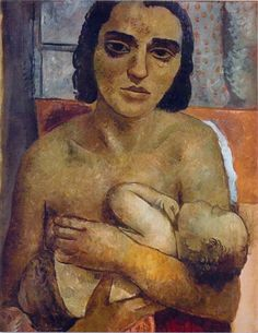 """Motherhood"", 1936, Lasar Segall."