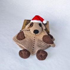 Puppy Dog Security Blanket Crochet Pattern  $3.99