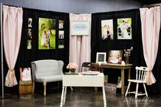 My bridal booth!    Sabrina Lafon Photography | Knoxville, TN Wedding and Portrait Photographer
