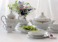Porcelana, ceramika, serwisy obiadowe, filiżanki, sztućce, talerze - Serwis obiadowy Fryderyka (Krzysztof )