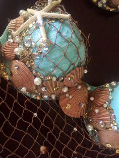Sea shell mermaid bra by Bellsuniquecreations on Etsy