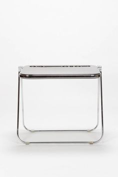 Giancarlo Piretti Writing Desk Platone Castelli, For Sale at Stainless Steel Furniture, Writing Desk, Vintage Table, Cool Furniture, 1970s, Antiques, Interiors, Antiquities, Desktop