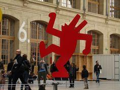 Keith Haring @ 104, Paris Haring Art, Keith Haring, Paris, Montmartre Paris, Paris France