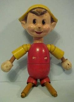 1930s composition wood Disney Ideal Pinocchio Doll Toy