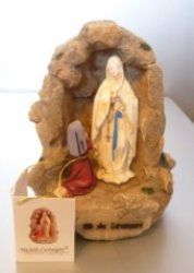 Our Lady of Lourdes Statues and Saint Bernadette States brought to you direct from Lourdes. Virgin Mary statues are one of the most recognized traditional figurines found inside or outside ones home Virgin Mary Statue, Our Lady Of Lourdes, Saints, Statues, Effigy