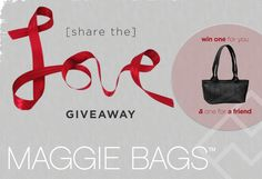 Maggie Bags [share the love] Giveaway Event