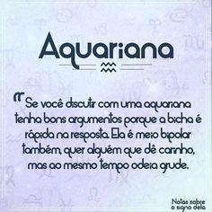 "13 Likes, 1 Comments - Nicoly Roberta (@nicolyroberta_sr) on Instagram: ""Será verdade? #signos #aquariana #sera #boanoite"""