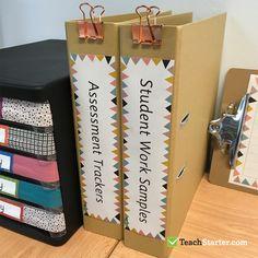 Organised Teacher Desk