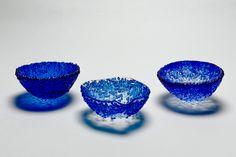 Sigi Hill - Designer Maker of Contemporary Glass in Hampshire, UK. Interior Accessories, Decorative Bowls, Wave, Contemporary, Glass, Design, Drinkware, Corning Glass, Golf