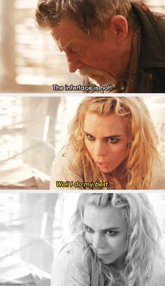 Bad Wolf is hot.