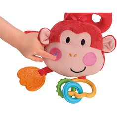 Fisher-Price - Stroller Monkey Activity