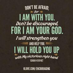 Isaiah 41:10 | Memory Verses | Pinterest | Isaiah 41 10, Google ...