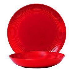 Royal Doulton Gordon Ramsay Maze 2-Piece Serving Set, Chilli Red