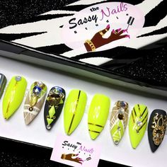 New Sassy Glue On Nails have been added to my shop check them out!
