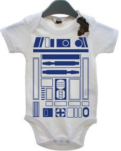 R2D2 BABY GROW BOY GIRL BABIES CLOTHES STAR JEDI WARS GIFT FUNNY COOL PRESENT | eBay
