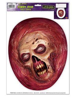 Schauriger Zombie Aufkleber grau-rot 30x43cm. Aus der Kategorie Halloween Partydeko / Halloween Raum-Dekoration. Falls Ihr Badezimmer auch ab und an mal recht lange durch Trödeleien blockiert ist, dann versuchen Sie es doch mal mit diesem netten Zombie-Sticker für die Toilette! Die Badezimmerzeiten Ihrer Gäste dürften sich innerhalb kürzester Zeit auf magischem Wege verringern!