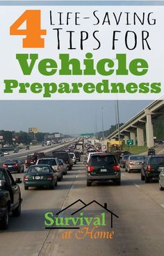 4 Life-Saving Tips for Vehicle Preparedness | Survival at Home If disaster were to strike, and you had to get in your car and leave right now, would you be ready? These 4 simple tips for vehicle preparedness could save your life!