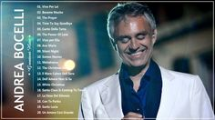 Andrea Bocelli greatest hits - Top 20 best songs of Andrea Bocelli