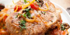 Que servir avec un osso bucco ? Ravioli, Salmon Burgers, Risotto, Pork, Turkey, Menu, Chicken, Ethnic Recipes, Ramadan