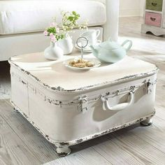 25 Vintage DIY Coffee Table Ideas