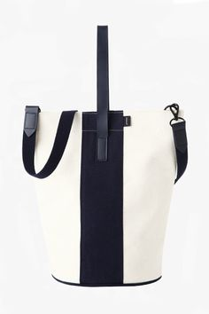 Join the bucket-bag mania; this one is budget-friendly. Poketo Bucket Bag, $75, available at Poketo.