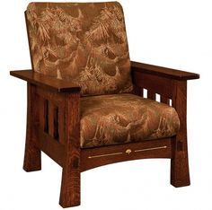 Mesa Wood-Inlaid Chair #cabinfield