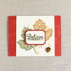 Lighthearted Leaves, Stampin' Up!, www.shawnstamps.com