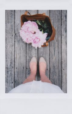 Nude flats to complement a white summer dress. | shot and styled by @caitlin_cawley for #instax