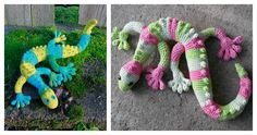 TheAdorable Gecko Amigurumi Free Crochet Patternis one of those rare patterns that will appeal to both boys and girls of all ages. The design is excellent and the color options are endless.