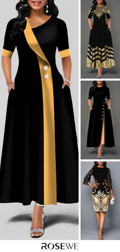 off 2 items, off ov Long African Dresses, Latest African Fashion Dresses, Women's Fashion Dresses, Elegant Dresses Classy, Classy Dress, Black Dresses Online, African Print Dress Designs, Designs For Dresses, Outfit