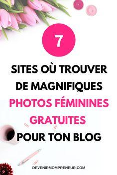 Pour avoir du trafic sur ton blog, il doit être beau. Voici 7 sites où tu peux trouver de magnifiques photos féminines gratuites. Web Design, Graphic Design, Design Ideas, Site Photo, Girl Group, Digital Marketing, Wordpress, Social Media Tips, Free Pics