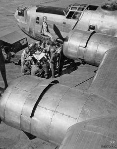 1945 ... B-24: 'Upstairs Maid' | by x-ray delta one