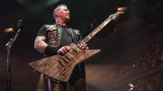 "Take a Look at ""Carl,"" the Guitar Made Out of Wood from Metallica's Eighties Home"